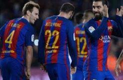 Barcelona vs Hercules 7-0 Highlights & All Goals (21/12/2016) - Arda Turan Hat-Trick Show