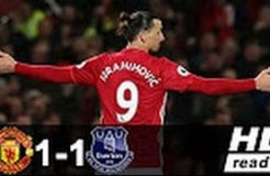 Manchester United vs Everton 1-1 - All Goals & Extended Highlights - Premier League 04/04/2017