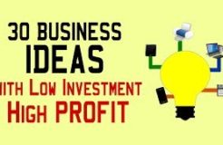 30 Small Business Ideas with Low Investment & High PROFIT