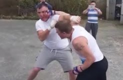 Ward v Donovan Bareknuckle Boxing 2015