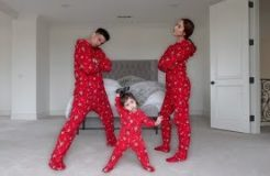 ULTIMATE ONESIE DANCE BATTLE WITH 1 YEAR OLD BABY!!!