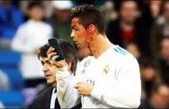 Cristiano Ronaldo Face Injury - Real Madrid vs Deportivo La Coruna 7-1 - La Liga 21/01/2018 HD