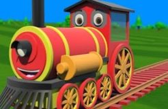 Educational Train Video For Children Collection - Binkie TV