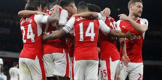 Arsenal overcomes West Ham with inspired second half