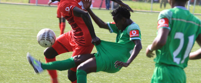 Simba SC lost 2-1 against Kagera Sugar