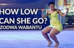 How low can she go? Zodwa Wabantu | Dj Muntu