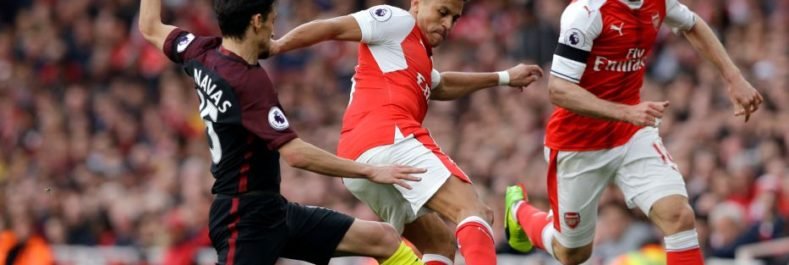 Video:Arsenal vs Manchester City 2-2 Extended Highlights & Goals 2017
