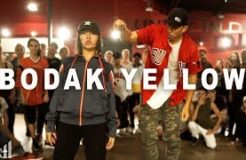 """BODAK YELLOW"" - Cardi B Dance   Matt Steffanina ft Bailey Sok"