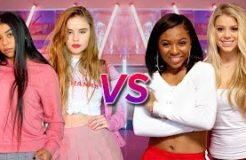 DANCE BATTLE - MEAN GIRLS VS HIGH SCHOOL MUSICAL | Why Don