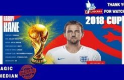 WORLD CUP 2018 HARRY KANE PLAYER WITH MOST GOALS