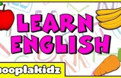 Learn English | English Learning For Children | Fun way to Learn Spelling of 17 English Words
