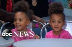 The Adorable 3-Year-Old McClure Twins Appear Live on