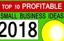 Top 10 Profitable Small Business Ideas in India of 2018