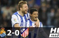 Real Sociedad vs Atletico Madrid 2-0 - All Goals & Extended Highlights - La Liga 05/11/2016 HD